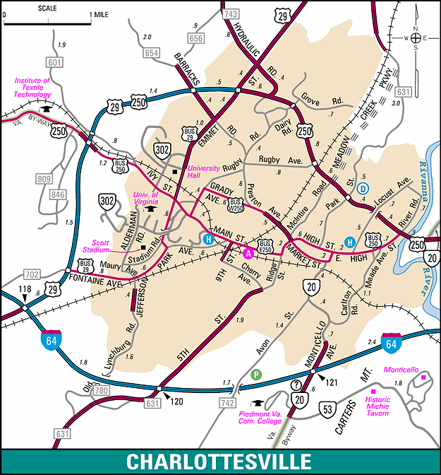 Maps City Map Of Virginia on